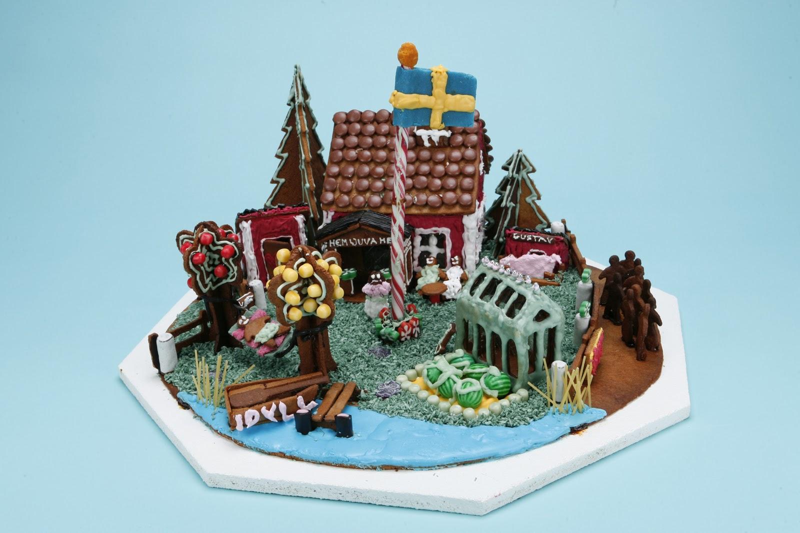 Αποτέλεσμα εικόνας για stockholm gingerbread house competition