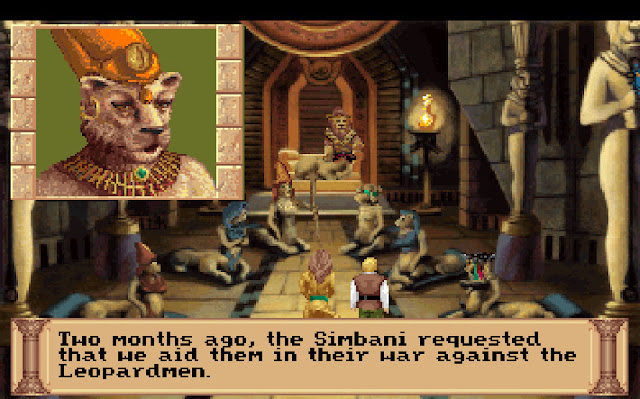 Screenshot of Quest for Glory III