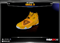NBA 2K14 Peak Grant Hill 3 Signature