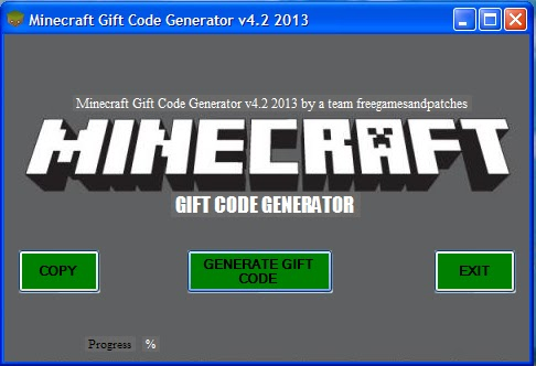 Best Hacks For Games 2013 Minecraft Gift Code Generator V4 2 2013 New Version 2013 Tested 2013