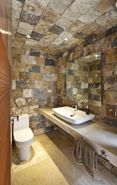 Green Bathroom Tiles Design