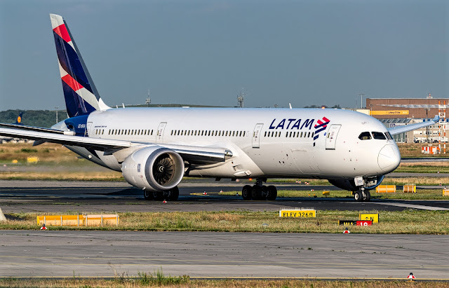 Boeing 787-9 of LATAM Airlines of Chile