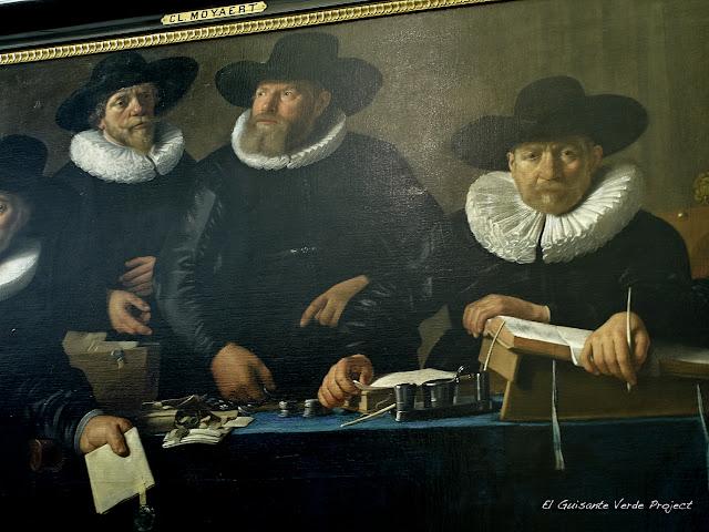 Galería de la Guardia Ciudadana, Schuttersgalerij (caballeros) - Amsterdam por El Guisante Verde Project