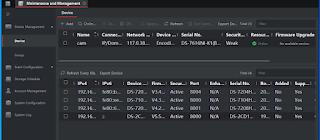 Tìm địa chỉ ip đầu ghi camera hikvision bằng IVMS- 4200