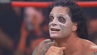 WCW Slamboree 2000 - Vampiro faced Sting