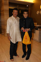 Sachin Tendulkar with his wife at Mata ka Jagrata hosted by Anu Malik 21.JPG