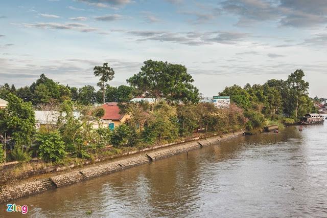 Khu vực bờ sông Sa Đéc phường 4