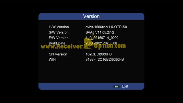 SUPERGOLD SG-6666 V2 1506TV 512 4M BUILT IN WIFI NEW SOFTWARE 28 JUNE 2021