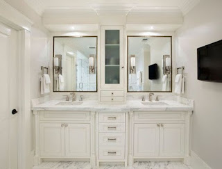 White Bathroom Vanities Cabinets