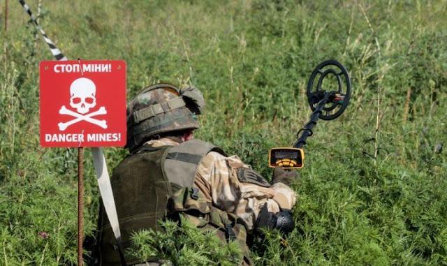 Росія не погоджується на розмінування Донбасу