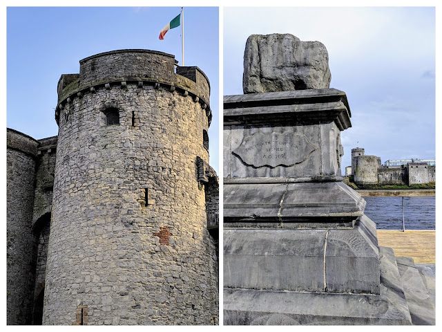 Limerick points of interest: King John's Castle and the Treaty Stone