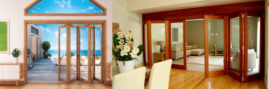 Glass room doors