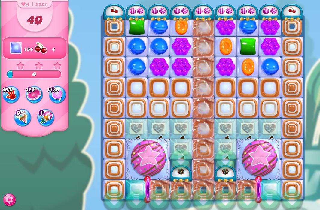 Candy Crush Saga level 9527