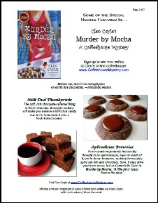 Chocolate Recipes . . . to Die For