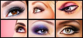 Les harmonies des couleurs de maquillage