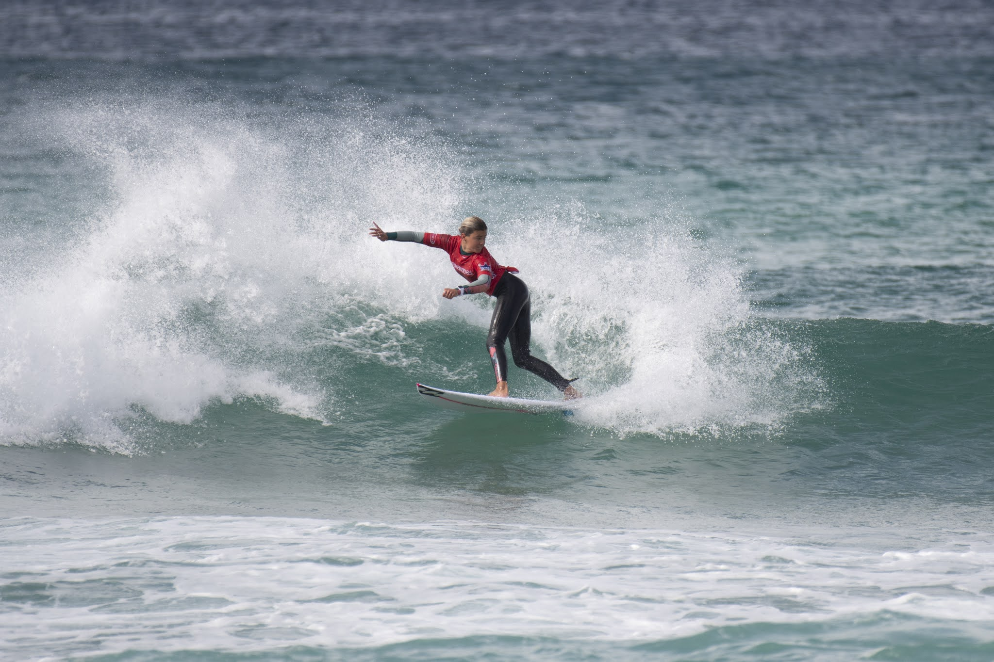 Juniper Harper (Lennox Head) took out the win for the under 14 girls division at the 2020 Havaianas NSW Grommet State Titles.