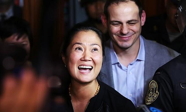 Keiko Fujimori sale en libertad
