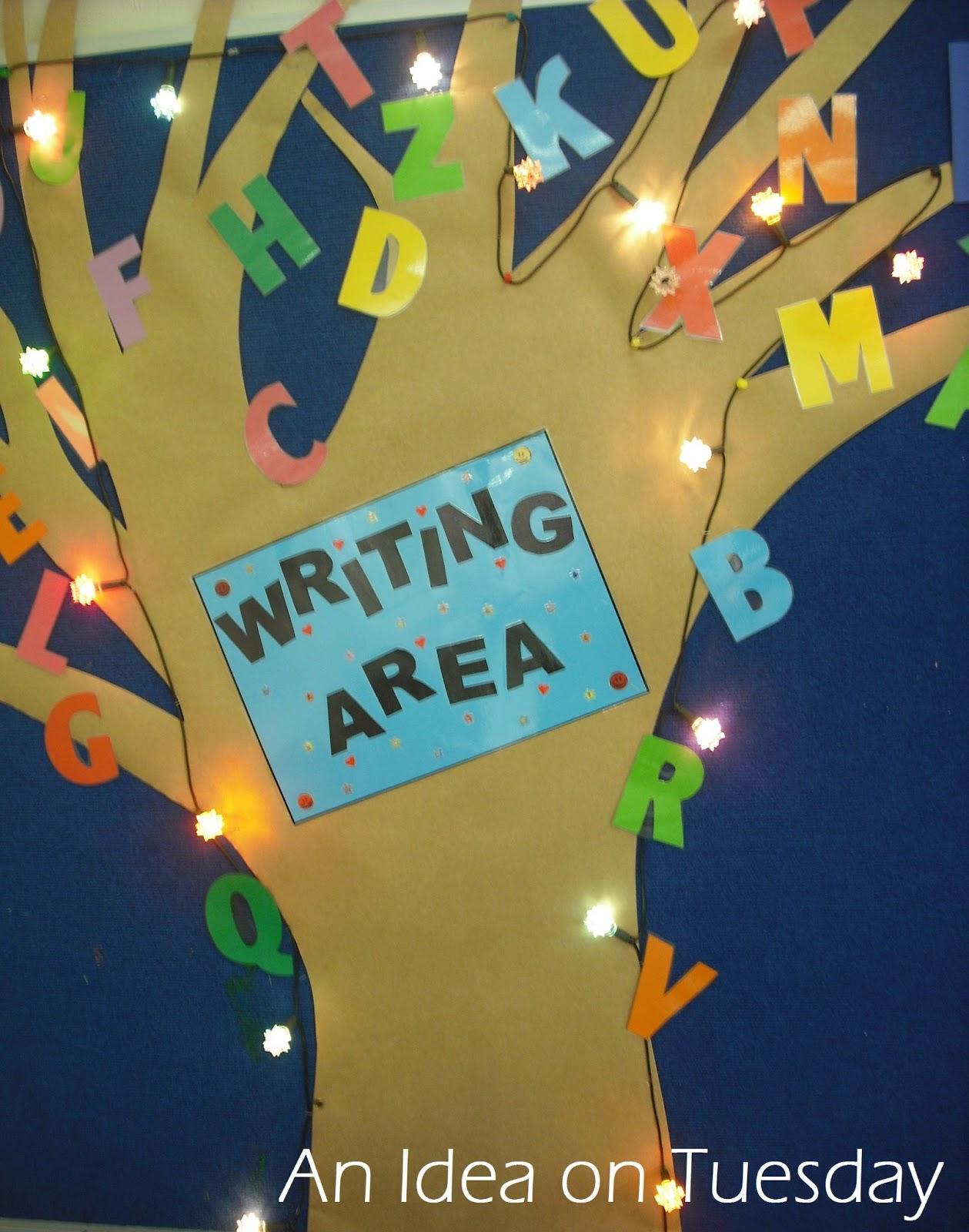 An Idea On Tuesday: Early Literacy Ideas