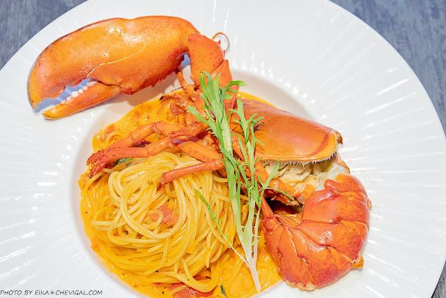 MG 7802 - 熱血採訪│水相餐廳,台中浪漫水岸用餐好迷人,超狂龍蝦義大利麵霸氣吸睛,當月壽星還有免費蛋糕