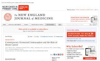 Contemporary Hormonal Contraception and the Risk of Breast Cancer