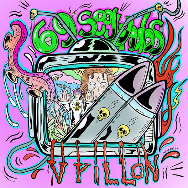 """69 Segundos stream new song """"Vrillon"""""""