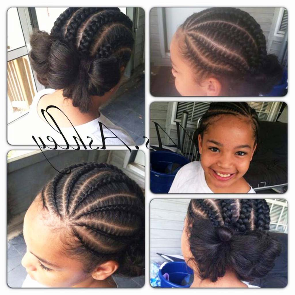 17 French Braid Hairstyles for Little Black BEST and ...