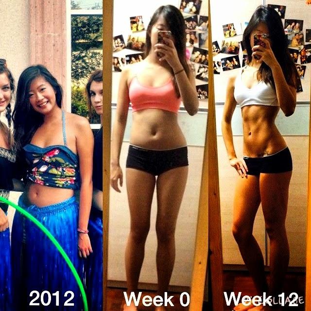 Kayla Itsines BBG girl Fitness Transformation Photo