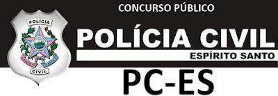 PC-ES: autoriza concurso para delegado (Polícia Civil ES)