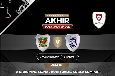 Harga Tiket Final Piala Malaysia 2019 Kedah vs JDT