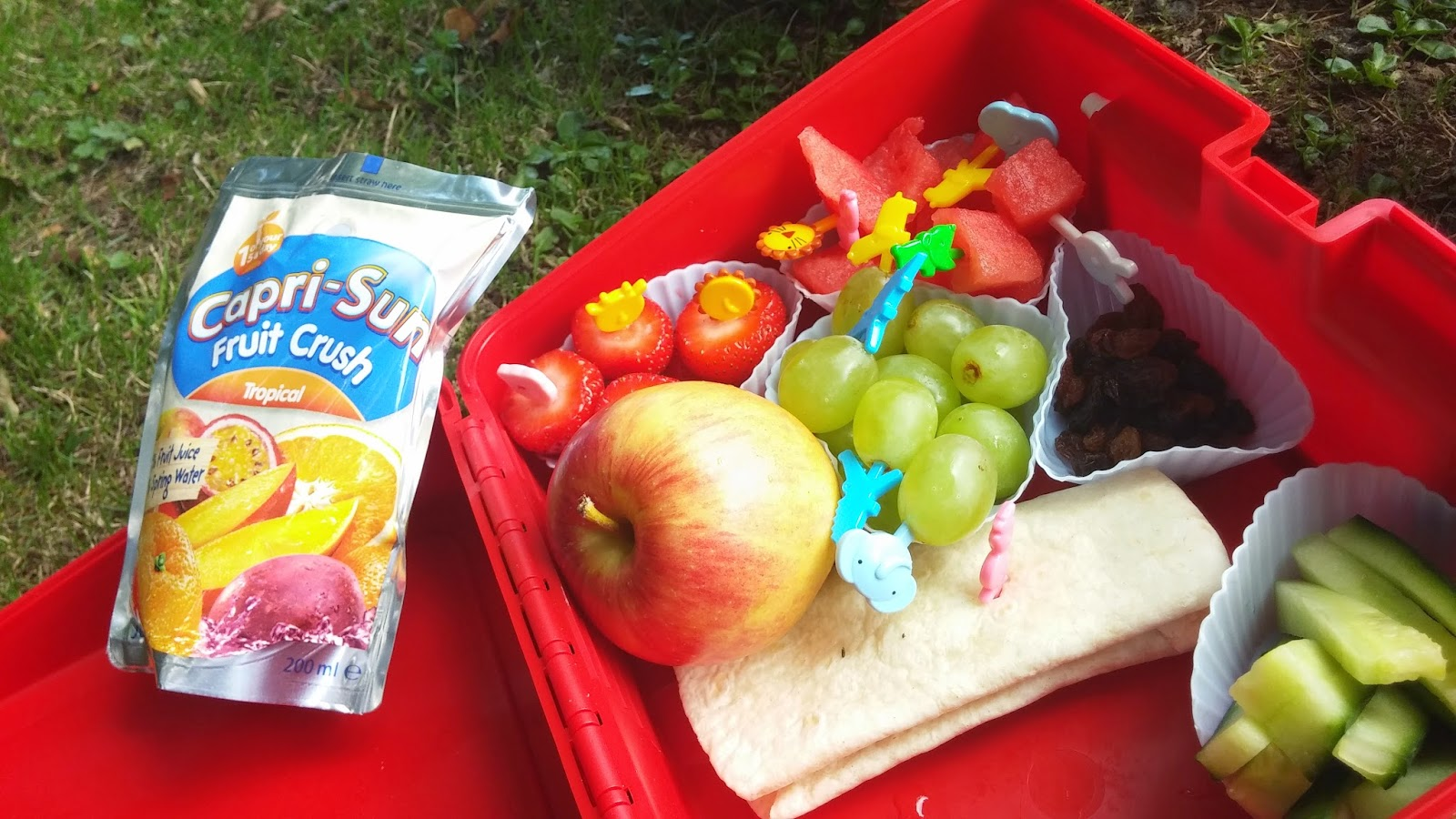 Healthy Lunchboxes, Juice drink, #CapriSunSchool, #cbias, #shop