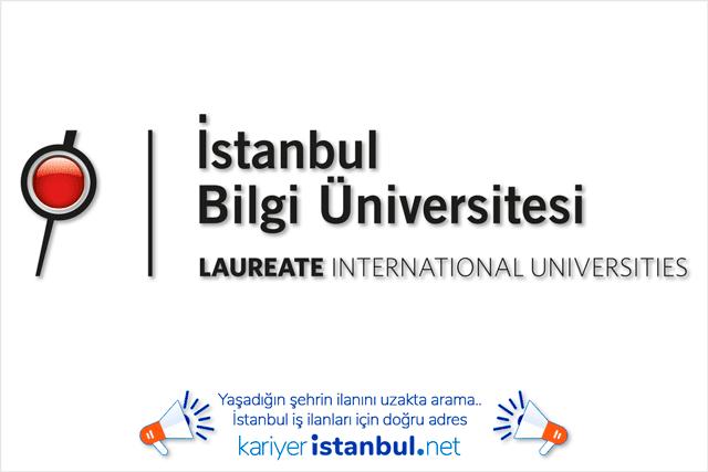 İstanbul Bilgi Üniversitesi öğretim görevlisi alımı yapacak. İlan başvuru şartları neler? Detaylar kariyeristanbul.net'te!