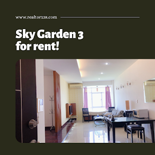 cho thuê 56m2 sky garden 3 phú mỹ hưng