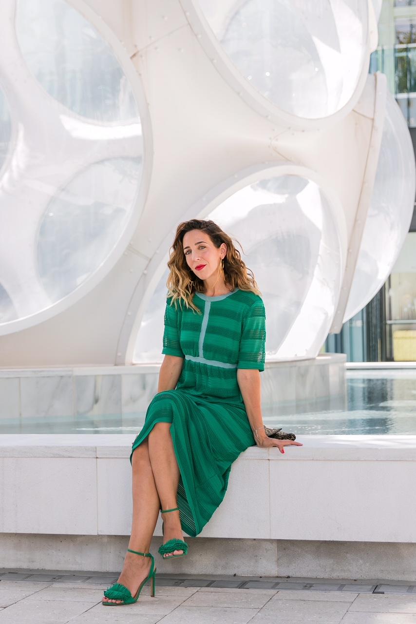 El verde en la moda por @miamifashioninsider