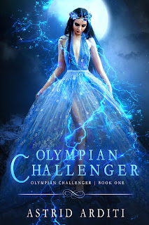 Cover Reveal: Olympian Challenger by Astrid Arditi @astrid_arditi