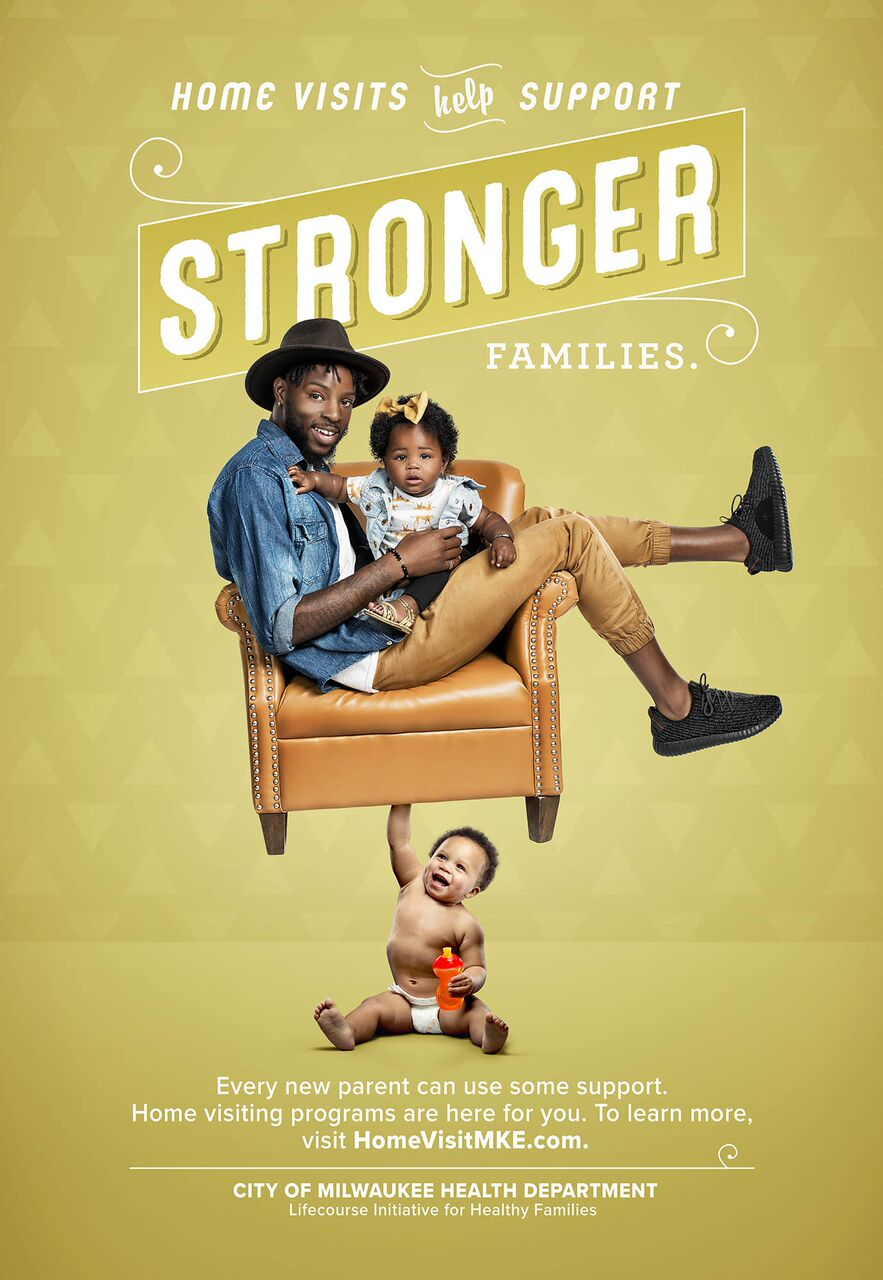 A New Strong Baby Campaign Was Launched In Milwaukee To