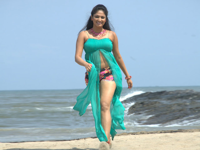 Actress Hariprriya Hot Navel and Thighs Show Pics Actress Trend
