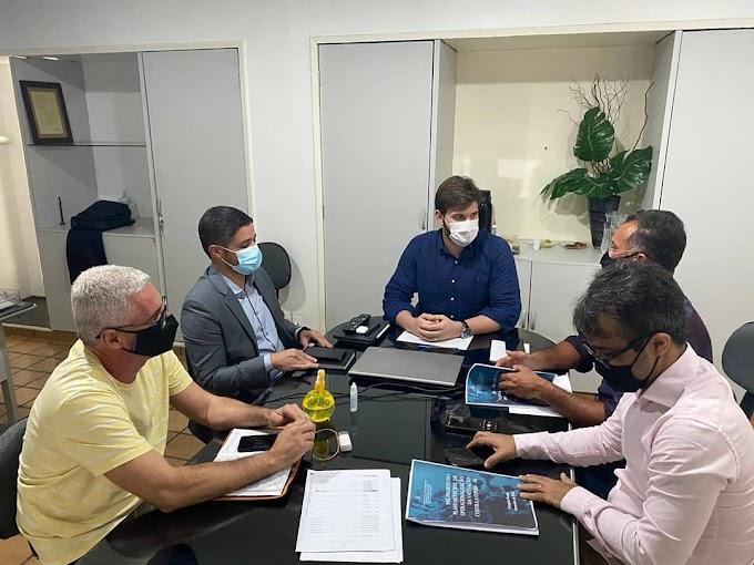 Waldeny Santana participa de reunião com Bruno para conhecer plano de vacinação