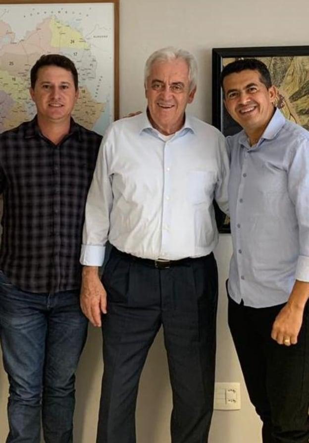 GUAJERU: Ao lado do Prefeito Gil Rocha e do Senador da República Otto Alencar, GALEGO filia-se ao PSD