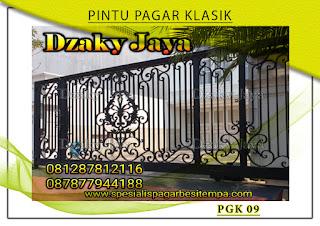 Model pintu, gerbang, pagar, besi, tempa, klasik, mewah 09