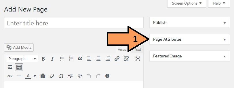 Wordpress page ke sidebar ko kaise disable kare ?