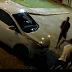 Câmeras de Segurança registram assalto e carro sendo roubado em Samambaia
