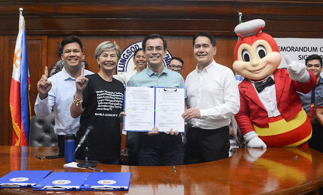 The city government of Manila and fast-food giant Jollibee Foods Corp. (JFC) have entered into a memorandum of agreement on Friday to provide employment for the elderly and persons with disabilities (PWDs).
