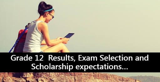 online slf 2020 grade 12 selection
