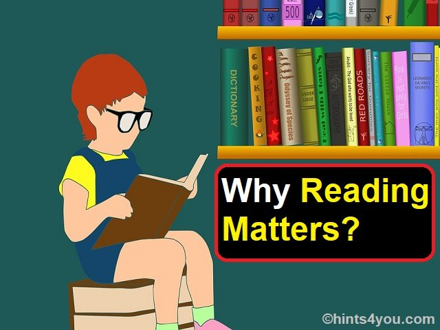 But the reading of the child not only stimulates it intellectually but also makes sense.