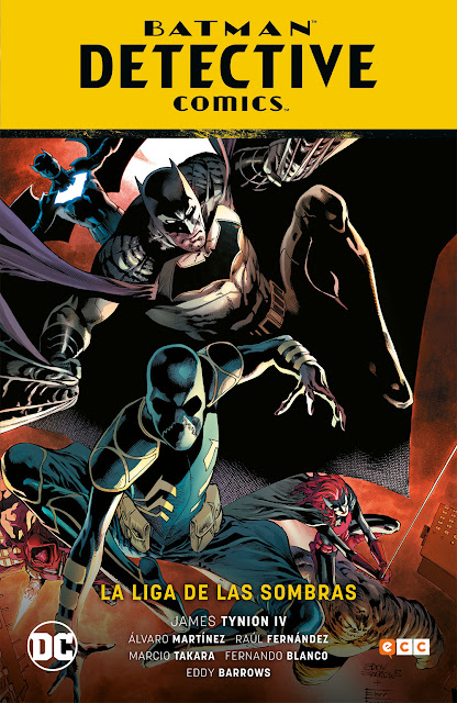 Batman: Detective Comics vol. 03: La Liga de las Sombras de James Tynion IV - ECC Ediciones