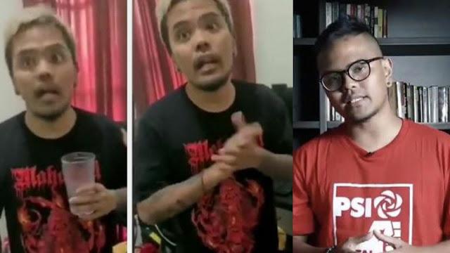Detik-Detik Komika Coki Pardede Digerebek Polisi Sedang Nonton 'B*kep Cowok'