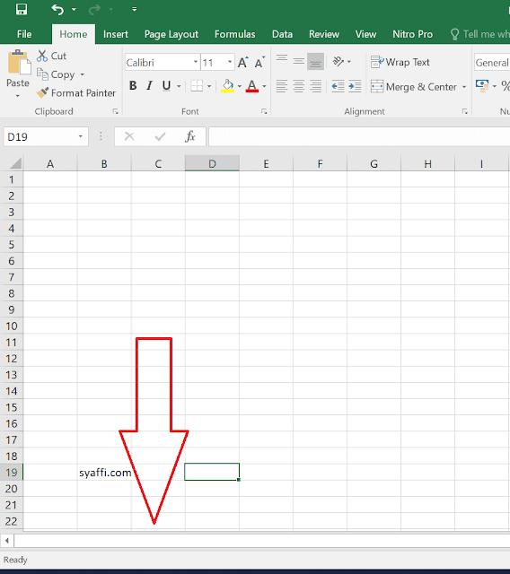 Cara Menampilkan Sheet di Excel