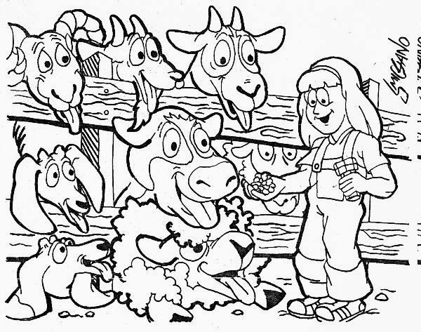 smig petting zoo coloring book. Black Bedroom Furniture Sets. Home Design Ideas