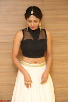 Roshni Prakash in a Sleeveless Crop Top and Long Cream Ethnic Skirt 053.JPG