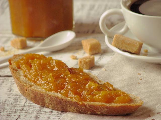 recette de confiture avec des fruits d'automne
